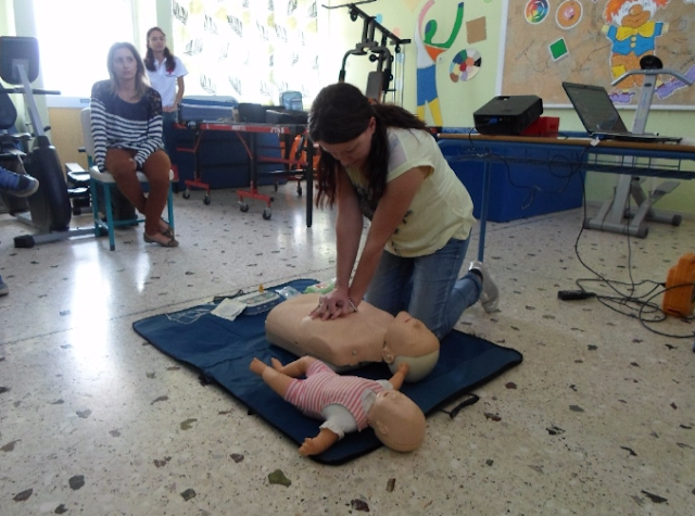 Σεμινάριο Πρώτων Βοηθειών στο Εργαστήριο Ειδικής Επαγγελματικής Εκπαίδευσης και Κατάρτισης Αργολίδας