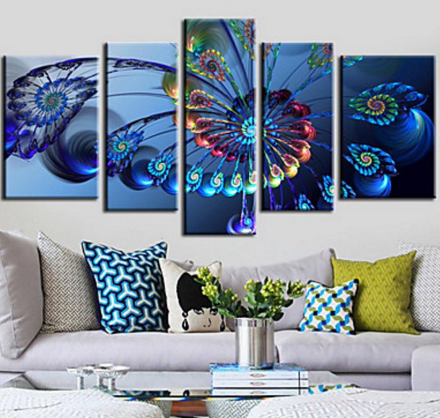 Cuadros pinturas oleos decoraci n moderna cuadros para - Pinturas de decoracion ...