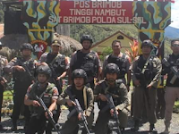 Kunjungan Kerja ke Pos Pengamanan Tingginambut, Kabid Propam Polda Papua Berikan Motivasi dan Semangat Kepada Personel