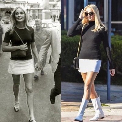Sharon Tate look filme