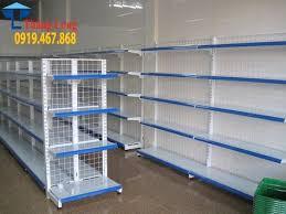 Gía kệ siêu thị giá rẻ nhất hiện nay được mua tại Thăng Long