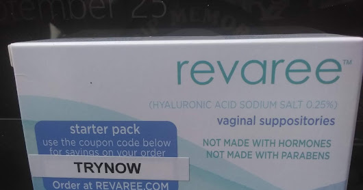 Revaree Vaginal Suppositories Review #review #spon