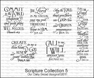 Our Daily Bread Designs, Scripture Collection 5