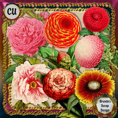 New Commercial Use Floral Sample