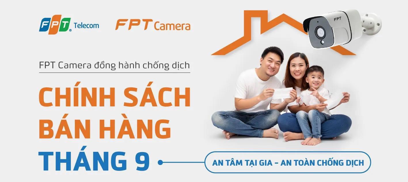 Giá bán Camera FPT tháng 9/2021 tại TPHCM và các tỉnh