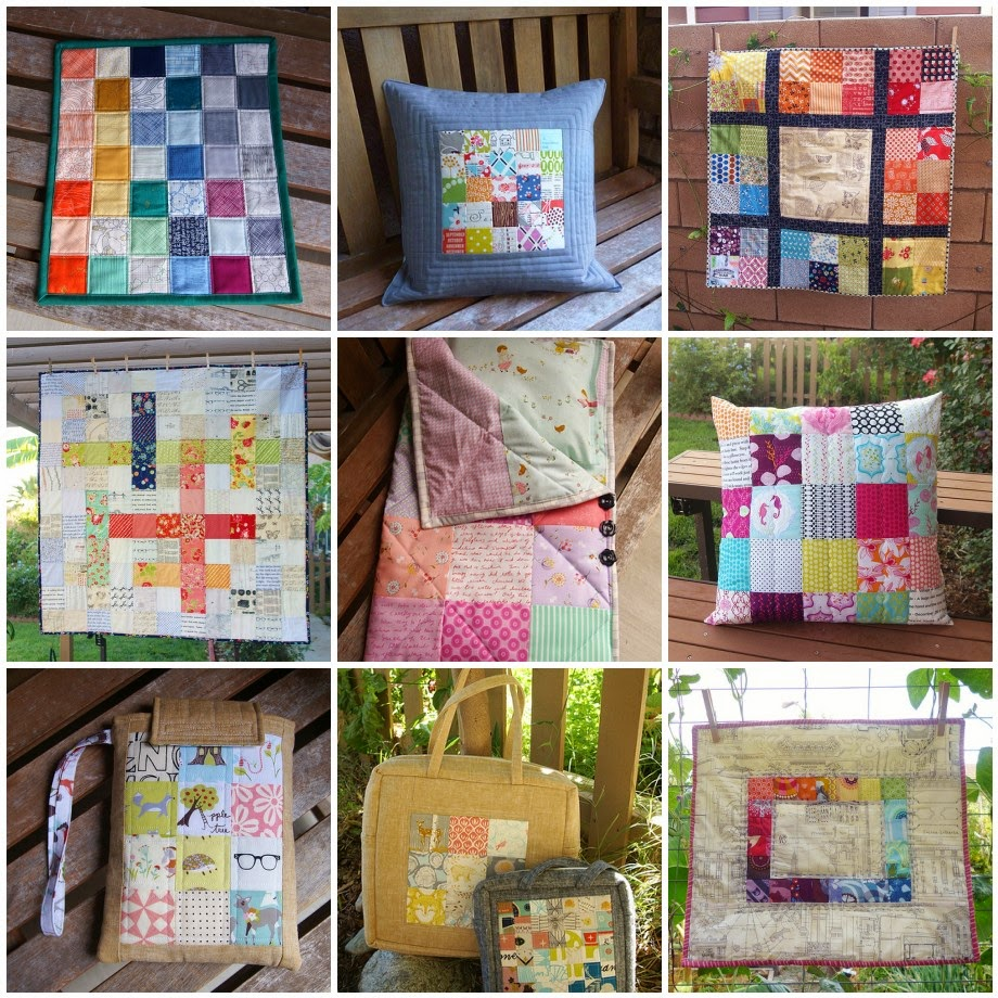 Patchwork Square Projects by Heidi Staples at Fabric Mutt