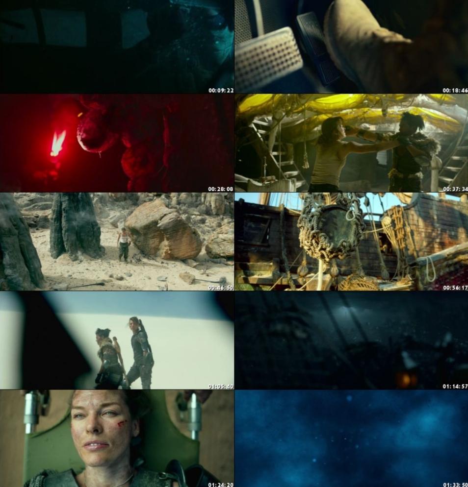 Monster Hunter (2020) Hindi (ORG) Dual Audio 720p BluRay [900MB]