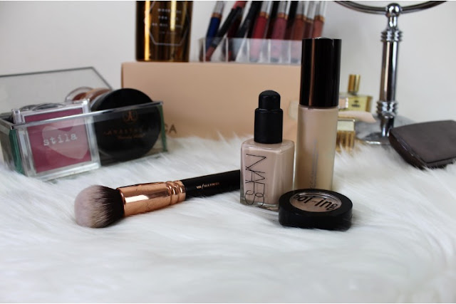 face brushes, makeup brushes, zoeva, sigma beauty, models prefer, nude by nature, furless cosmetics, vegan, cruelty free, complexion, 102 silk finish