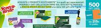 Logo Con Scotch Brite vinci 500 Card Tigotà da 25€