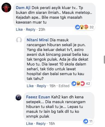 Teguran 'Makan Dalam' Amran Fans Buat Syed Saddiq