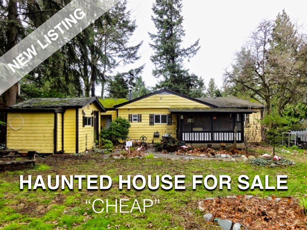 Dogbrindle Haunted House For Sale