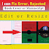 We will Fix your error book cover or manuscript
