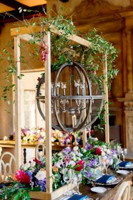 Juwel getönten Vintage romantische Hochzeitsideen