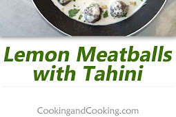Lemon Meatballs with Tahini