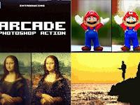 Arcade 8-bit Pixel Photoshop Action