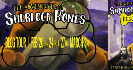 The Adventures of Sherlock Bones Blog Tour: Guest Post and Giveaway for a Pet Prize Pack!