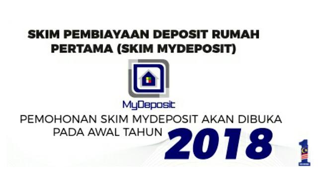 Permohonan Skim MyDeposit 2018 Online