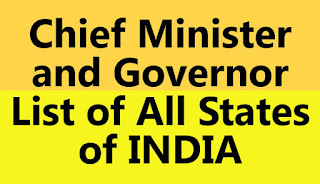 HERE IS LIST OF CM AND GOVERNOR OF INDIAN STATE. today we will discuss about the cm and the governor of Indian state .  Jammu Kashmir is governor is Satyapal Malik next cities Himachal Pradesh Jai Ram Thakur cm and Acharya the governor of Himachal Pradesh Punjab State CM is Amrinder Singh and VP Singh model no is governor of Punjab CM of Haryana is Manohar Lal Khattar and sister Devnarayan Aryan its governor of Haryana trivendra Singh Rawat is CM of Uttarakhand and Rani Maurya is Governor of Uttarakhand Aditya Nath Yogi is the CM of Uttar Pradesh and Ram Naik is Governor of Uttar Pradesh Nitish Kumar is CM of Bihar and Lalji Tandon is governor of Bihar raghubar Das is CM of Jharkhand and Draupadi murmu is Governor of Jharkhand next stage Mamata Banerjee age CM of Paschim Bengal and Keshari Nath Tripathi is Governor of Paschim Bangal Pawan chamling is CM of Sikkim and Ganga Prasad is Governor of Sikkim sarbananda sonowal is cm sarbananda sonowal is CM of Assam and Jagdish Mukhi is Governor of Assam next state is Arunachal Pradesh Pema Khandu is CM of Arunachal Pradesh and BD Mishra is Governor of Arunachal Pradesh who is CM of Nagaland and PB Acharya is Governor of Nagaland n Biren Singh is CM of Manipur and Najma heptulla is Governor of Manipur Lal thanhawla is chief minister of Mizoram and Poonam rajasekharan is Governor of Mizoram Biplab Kumar Deb is chief minister of Tripura and kaptan Singh Solanki is Governor of Tripura .