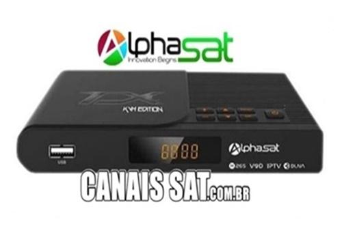 Alphasat TX Atualização V13.05.20.S82 - 20/05/2021