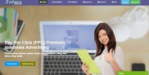 Zoteromedia Review - PPC Premium Indonesia Alternatif Google Adsense