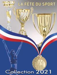 Catalogue La Fête du Sport 2021 : Coupes, Médailles, Trophées.