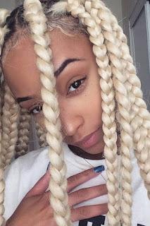 47 Amazing Lemonade Jumbo Box Braids Hairstyles We Love To Try