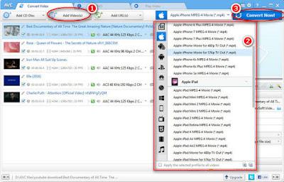 merubah video menjadi mp3 mp4 Avi Mpeg software aplikasi