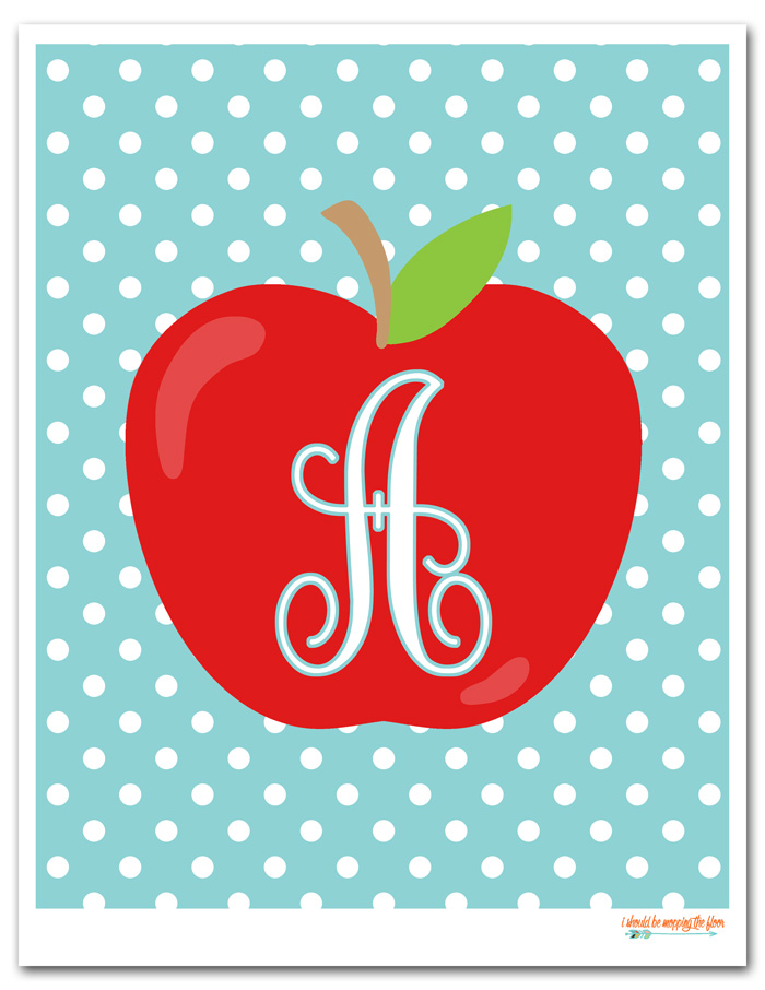 Apple Monograms
