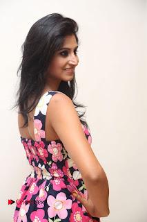 Model Shamili Latest Pictures in Floral Short Dress  0112