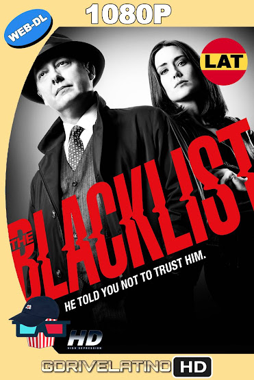 The Blacklist Temporada 01 al 06 NF WEB-DL Latino-Ingles MKV