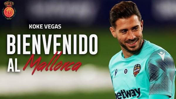 Oficial: Mallorca, llega cedido Koke Vegas