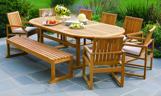 Teak Outdoor Patio Furniture for Your Outdoor Livingroom