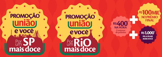 """Promoção: """"União e você por uma cidade mais Doce"""" Blog topdapromocao.com.br"""