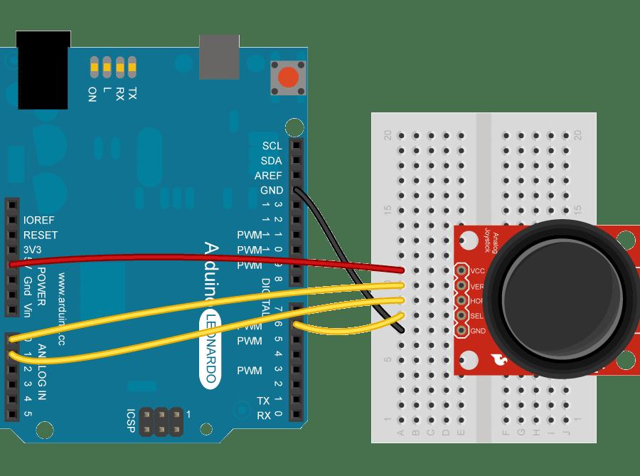 Joystick Mouse Control ~ Arduino Tutorial