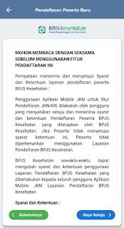 pendaftaran BPJS Kesehatan aplikasi JKN mobile 2