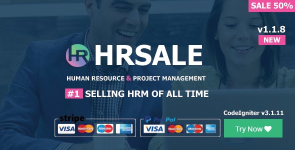 HRSALE v1.1.8 - The Ultimate HRM Download