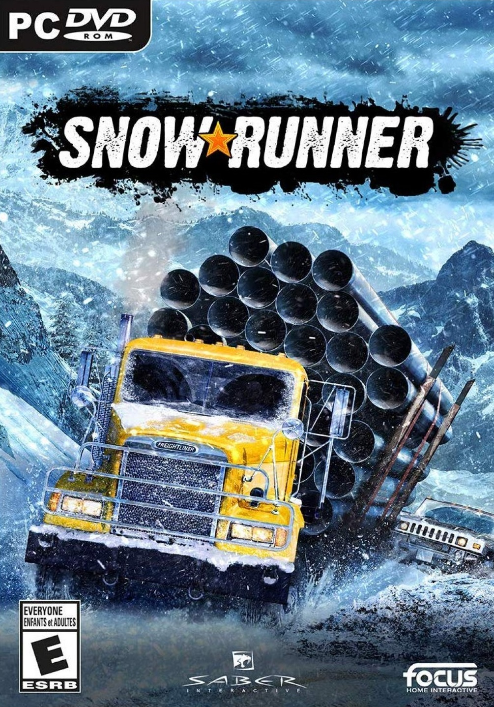 Descargar SnowRunner PC Cover Caratula