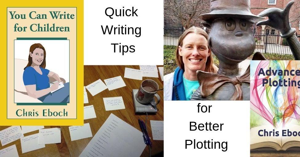 Plot Like a Screenwriter 2 with Douglas J. Eboch #scriptchat #scriptwriting #amwriting
