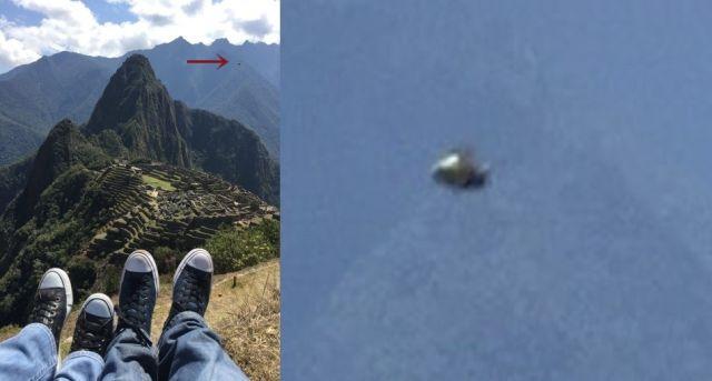 UFO News ~ Glowing Disk photographed over Peruvian Andes near Machu Picchu, Peru  plus MORE UFO%2B%2BMachu%2BPicchu%2BPeru