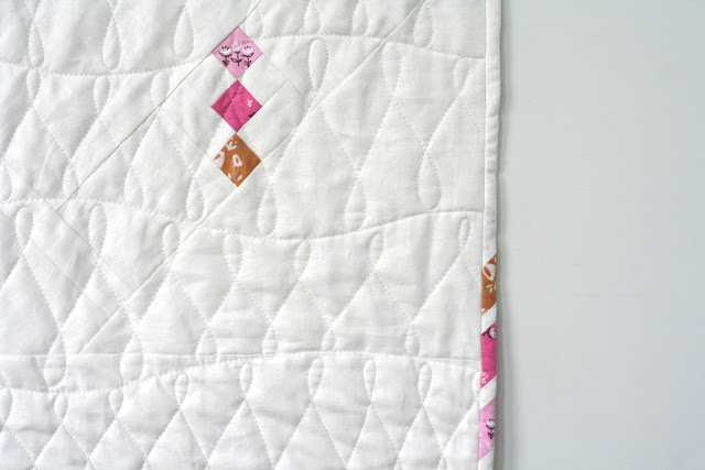 Tulip Quilt showcasing Playground Fabrics by Wooden Spoon Quilts