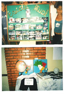Projeto escola antiga e atual