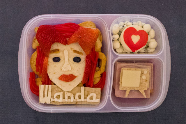 How to Make Marvel WandaVision Food Art School Lunches!