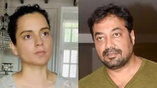 Anurag Kashyap and kangana ranaut