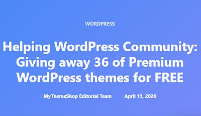 MyThemeShop miễn phí 36 Premium Themes WordPress cao cấp