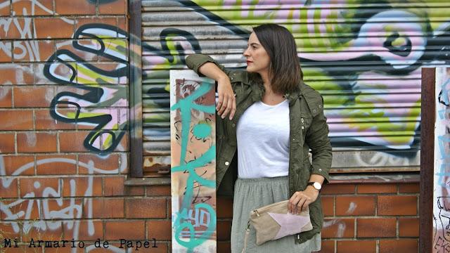 Look Trenddie Falda Verde Parka 4