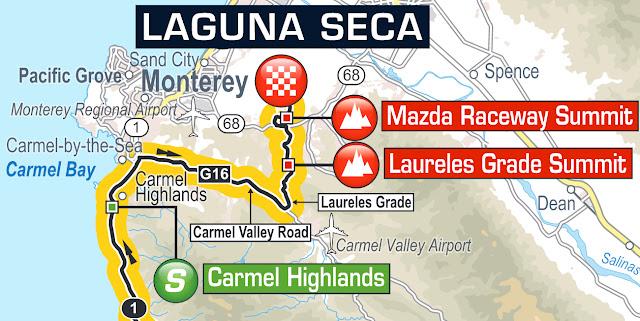 Finish at Laguna Seca Speedway, Stage 4 ATOC 0216 Amgen Tour of California
