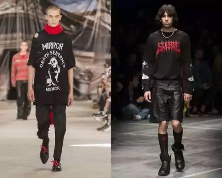 punk style man
