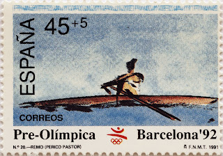 PRE-OLÍMPICA BARCELONA 92. REMO