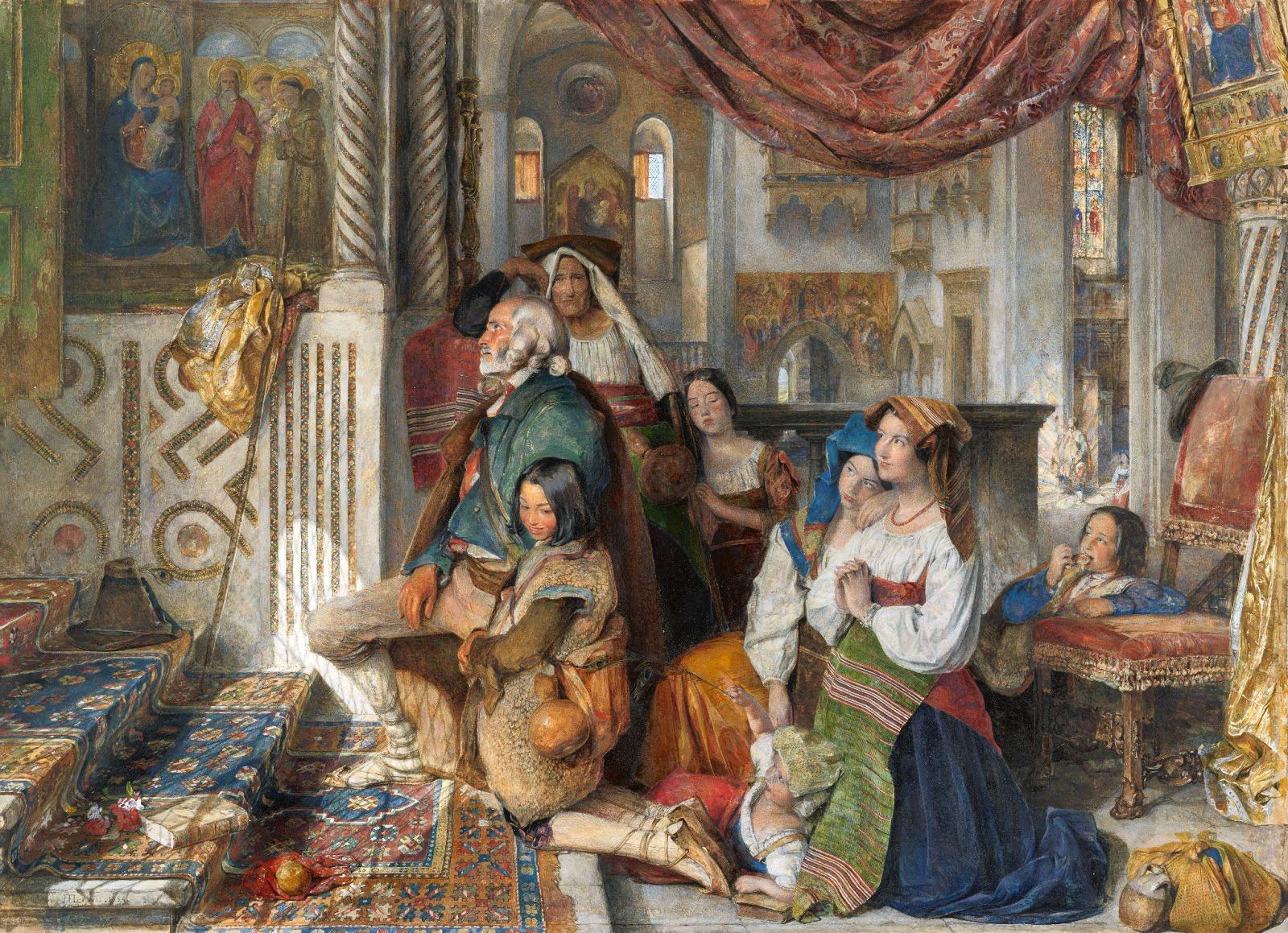 Victorian British Painting John Frederick Lewis