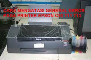 General Error Epson T13